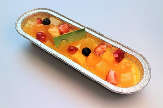 マンゴとオレンジと苺のカタラーナ